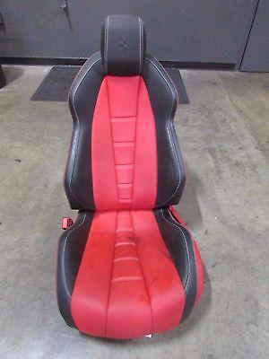 Ferrari 458 Italia, LH, Left Seat, Power, Black&Red w/ White Stitching, Used