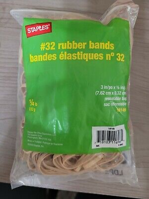 Staples 32 Rubber Bands