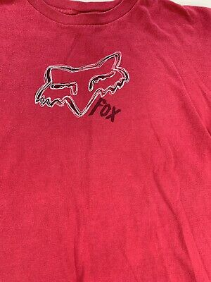 Girls Fox Racing  Kids XL Logo Tshirt Fast Shipping 🚀 - Fox Girls T-shirt