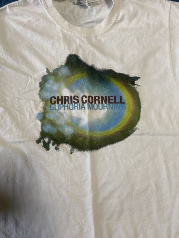 Chris Cornell Euphoria Morning T-Shirt Size Small