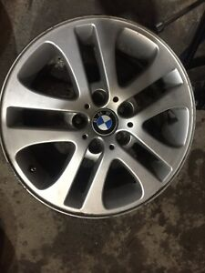 "BMW 17"" aluminum mags rims 180$ for all 4"