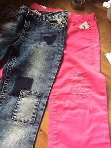 Girls new jeans