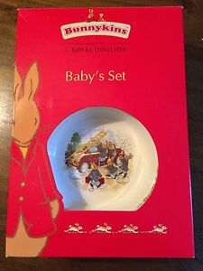 Bunnykins - Baby's set by Royal Doulton