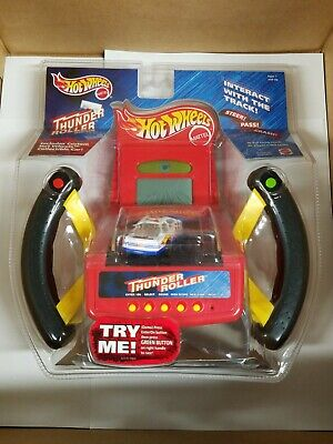 Hot Wheels Thunder Roller Game Handheld Racing 1999 New In Package