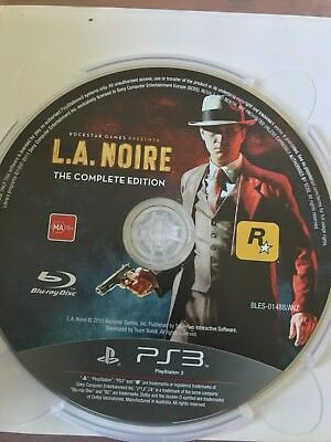 Used, LA NOIRE THE COMPLETE EDITION PS3 PLAYSTATION 3 AUS PAL VGC DISC & CASE ONLY for sale  Shipping to Canada