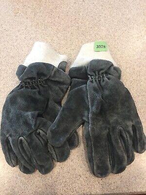 American Firewear Firefighter Gloves Bunker Turn Out Gear Guc Size Large
