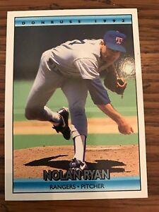 Nolan Ryan 1992 Donruss Texas Rangers #707