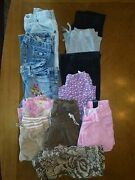 Girls Size 12 Capris Lot