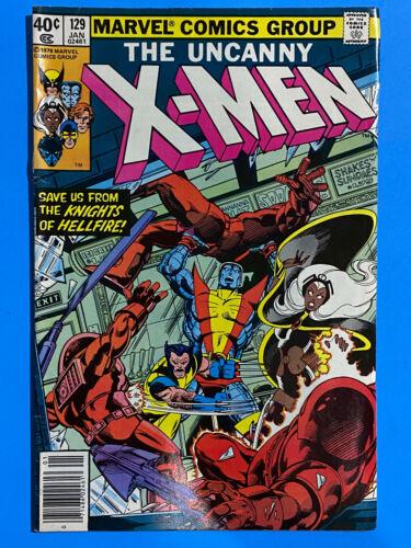 Uncanny X-Men # 129 FN+ 6.5 | 1st Kitty Pryde, 1st Emma Frost 1980 Bronze Key