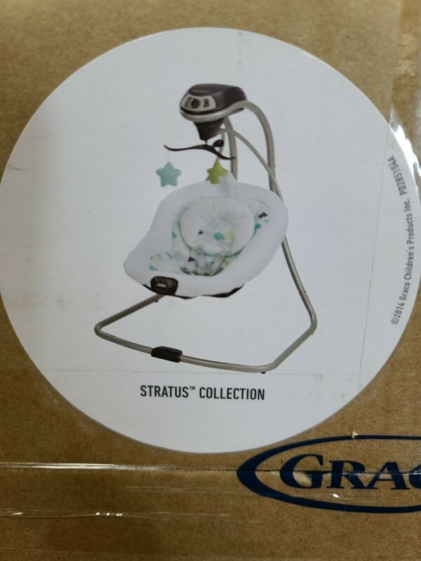 BABY INFANT BOUNCER SWING SEAT STRATUS 2 Speed Vibration Comfort Small Design