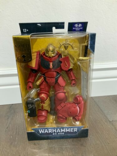 Warhamner 40k Blood Angels Primaris Lieutenant McFarlane Gold Label Walmart