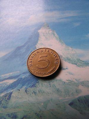 5 Reichspfennig 1938 A Deutsches Reich Kursmünze -  -