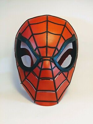 Spider-Man Plastic Spider Sight Mask Kids Costume Hasbro Child Spider Man Mask