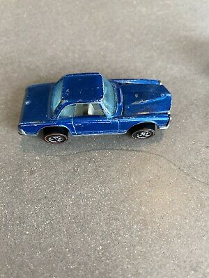 Vintage HOT WHEELS Redline BLUE MERCEDES BENZ 280SL 1969 Hong Kong MissingWheel