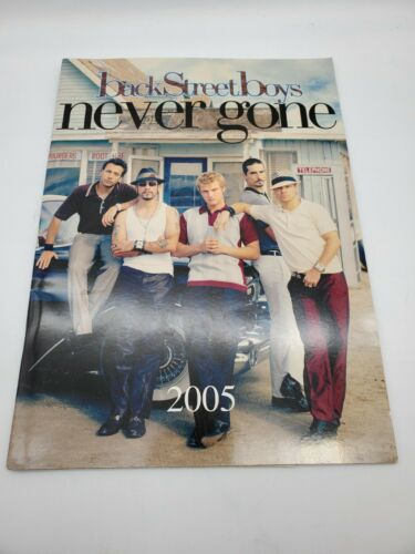 BACKSTREET BOYS 2005 Never Gone Concert Tour Program Book July 2005 Tampa