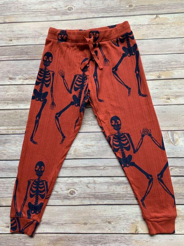 Mini Rodini Skeleton Jersey Trousers, 104-110 Cm