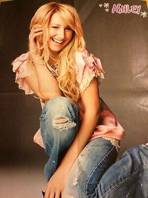 Ashley Tisdale, Zac Efron, Double Four Page Foldout Poster