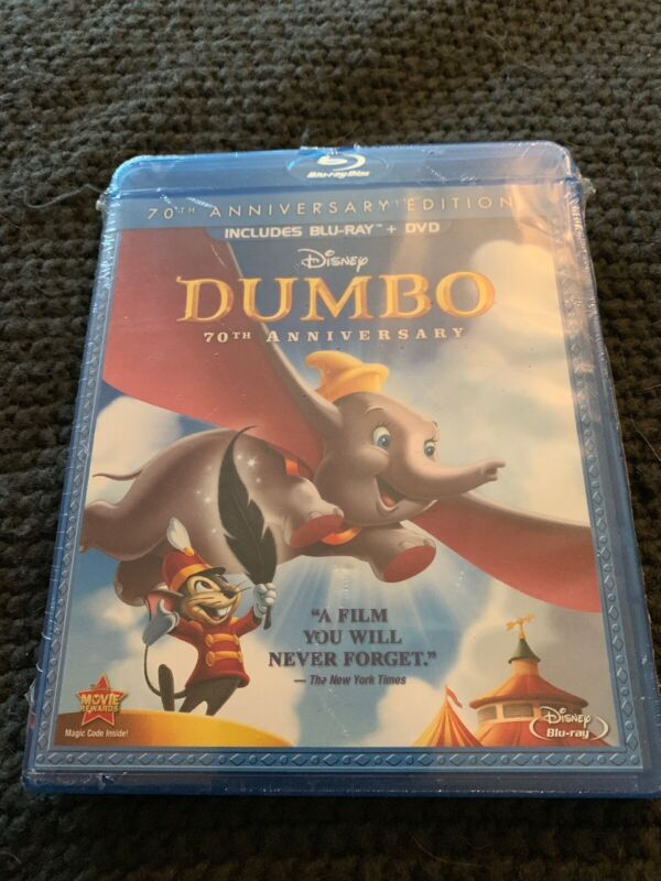 Dumbo [new Blu-ray] With Dvd, Full Frame Anniversary Edition, Dolby, Digital New