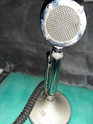 Vintage Astatic Corp. Model No. D-104 Stand Microphone Lollipop - Untested
