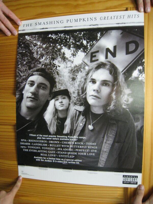 Smashing Pumpkins Poster The Greatest Hits Band Shot