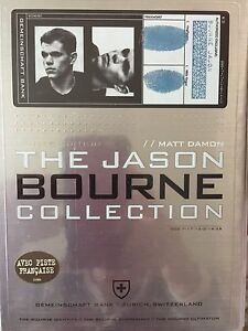 THE JASON BOURNE COLLECTION DVD
