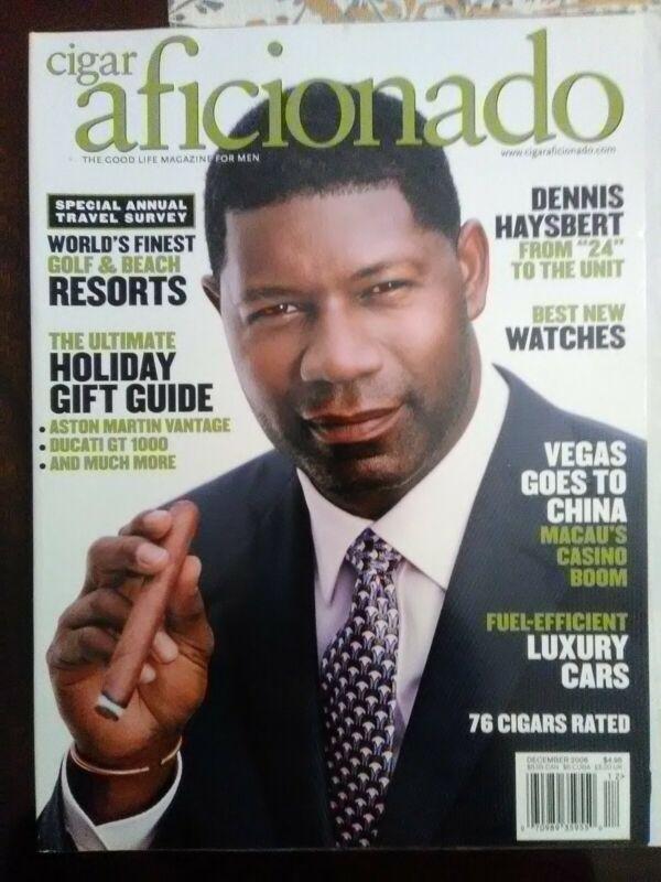 Cigar Aficianado Magazine, December 2006