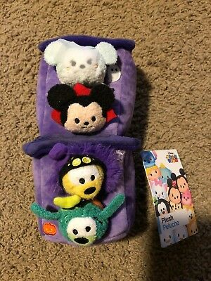 Authentic Disney Store Halloween Haunted House Micro Tsum Tsum Plushes Set NWT! - Haunted Halloween Store