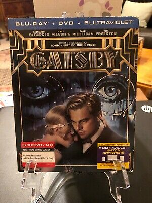 The Great Gatsby (LIMITED EDITION Blu-ray / DVD / Ultraviolet,2013) LN!](Great Pg-13 Halloween Movies)