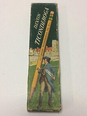 Cool Old Dixon Ticonderoga No. 1386 2 510 Box Only For One Dozen Pencils