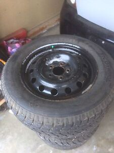 225/60/16 studded winter tires