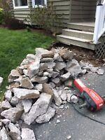 Concrete & Stone Removal