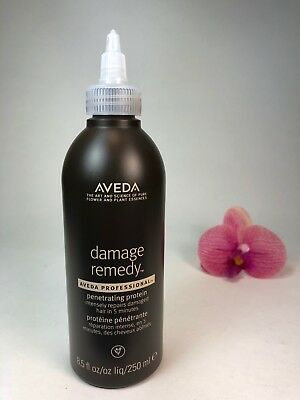 Aveda Damage Remedy Penetrating Protein 8.5oz/250ml Prof Brand New (Aveda Protein)