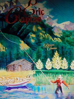 ERIC CLAPTON POSTER Original Bill Graham SAN JOSE CIVIC BGP193 Chris Peterson
