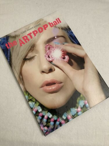 LADY GAGA THE ARTPOP BALL 2014 HARDCOVER COFFEE TABLE BOOK: THE FAME CHROMATICA