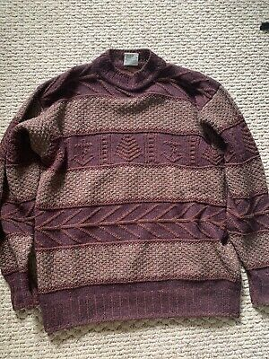 Bonner of Ireland HandKnit Wool Pullover Sweater Men's Size L