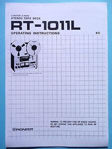 funzionamento-manuale-d-039-ISTRUZIONI-PER-PIONEER-rt-1011l