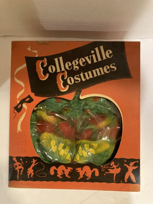 Collegeville Vintage Chinese Dragon Battery Operated Halloween Costume RARE