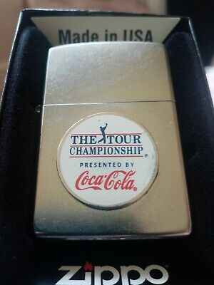 Coca Cola Zippo custom never used or fueled fully working