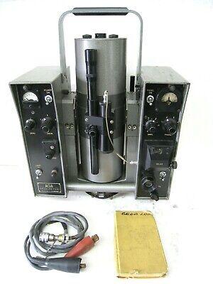 1960s Aga Geodimeter Model 6 Sweden Original Case Vintage Survey Equipment