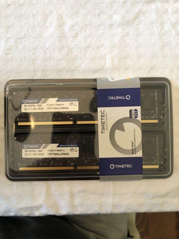 TimeTec Hynix 16GB Kit (8GB X 2) DDR3L 1600 Desktop RAM