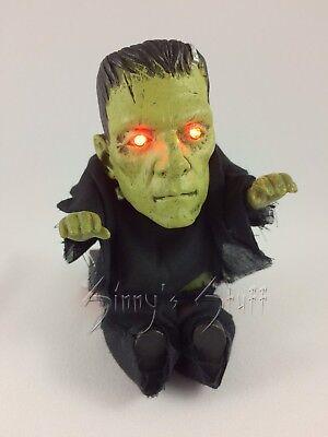 Animated Monsterville Frankenstein Pocket Screamer with Zombie Voice Box - Zombie Voice