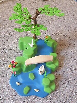 Playmobil Princess Fairy Garden Bridge Stream