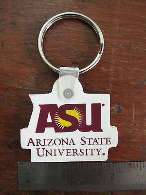 ASU Arizona State University Collage Key Chain Sun Devils
