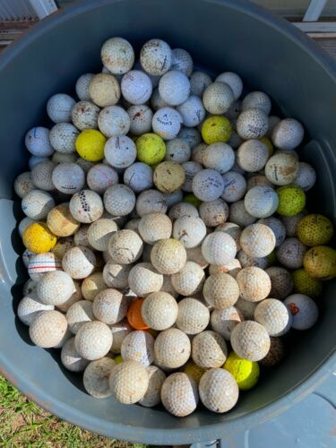 150 Truly Hit Away Unwashed Golf Balls Assorted Brands