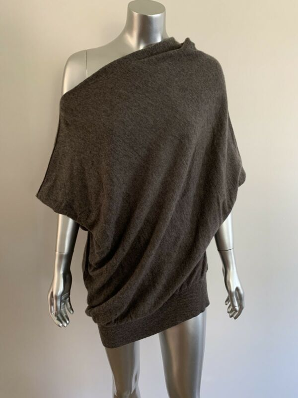 EUC VINCE For A Pea In The Pod 100% Cashmere Cocoa Maternity Sweater ~ Size L