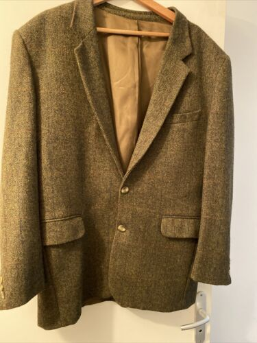 Veste homme tweed - style chasse - taille 52