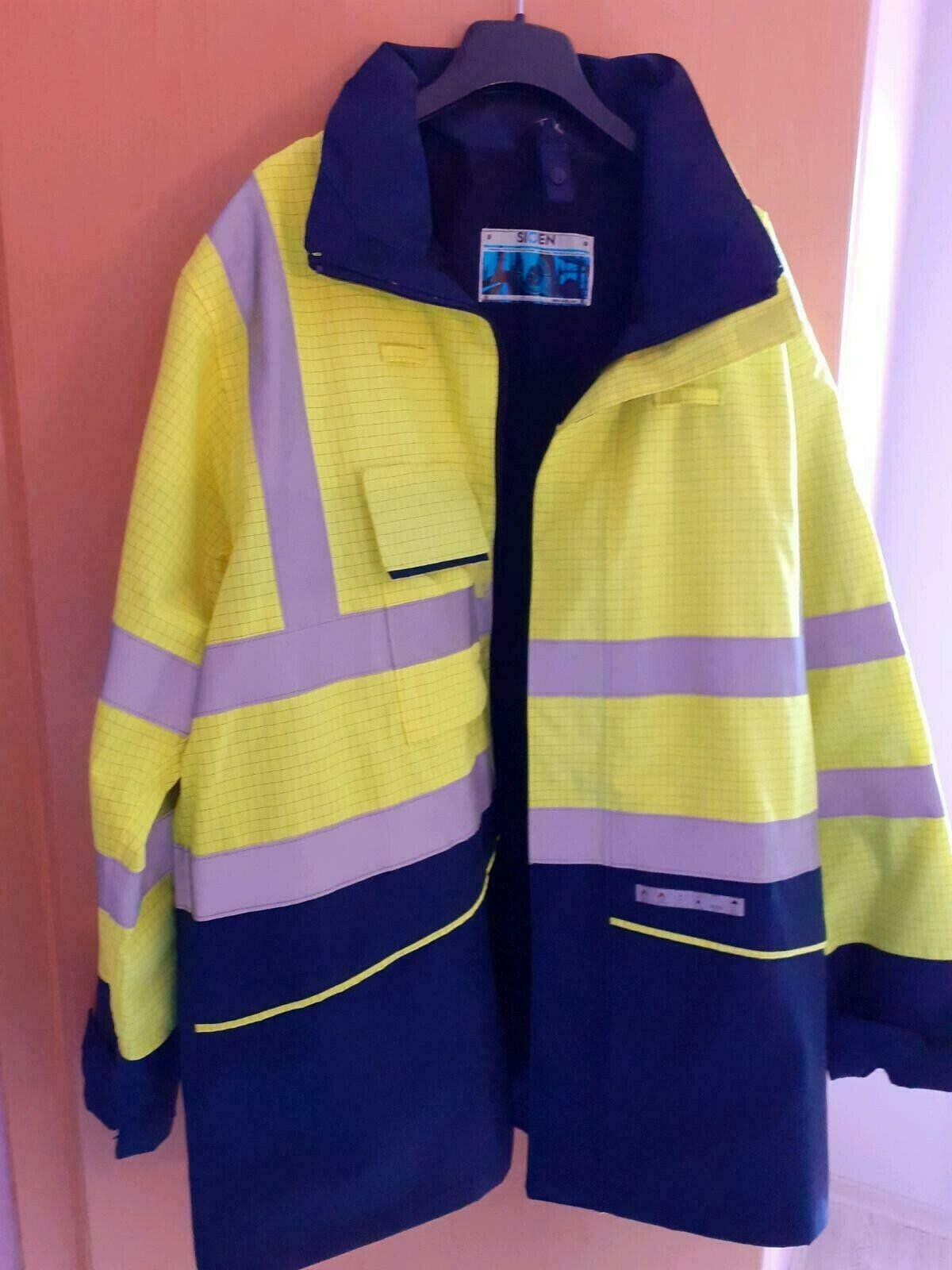 Sioen Feuerschutzjacke, nagelneu und ungetragen , Gr. xxl, Arbeitsjacke ,