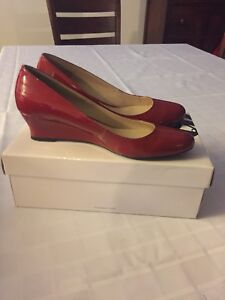 Nine west brand new leather shoes!
