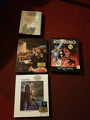 Atari St Games Bundle rare