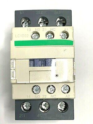 Contactor LC1D32G7 Coil 120VAC 32A AMP 50/60Hz 15KW / 400V 20HP 480V